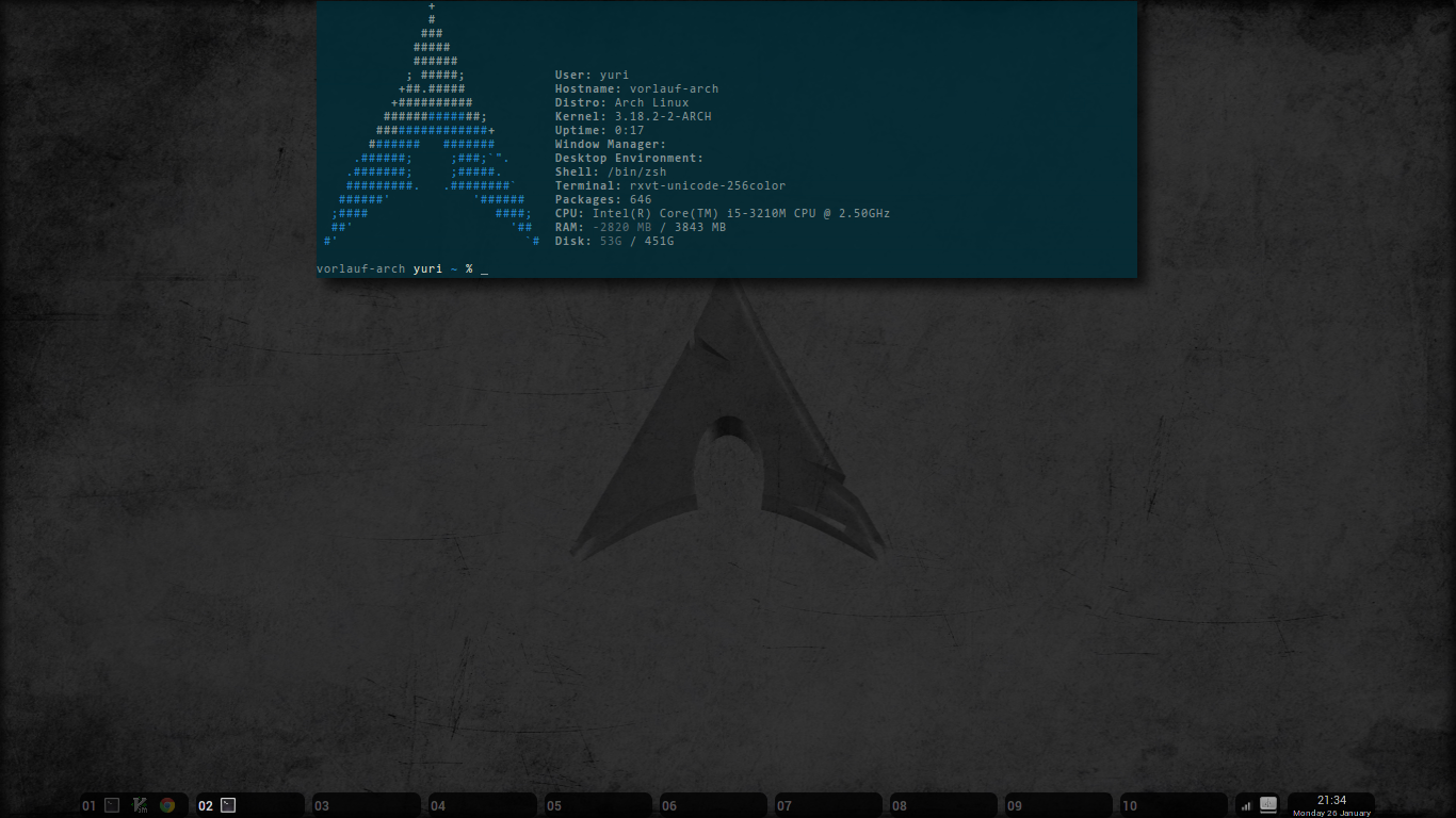 bspwm screenshot