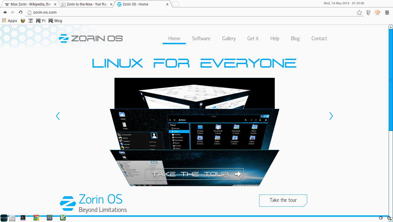 Zorin Screenshot